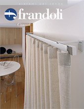 Casual Line of wood curtain rods
